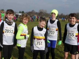 Lancaster & Morecambe Cross Country runners tackle a Windy Ulverston