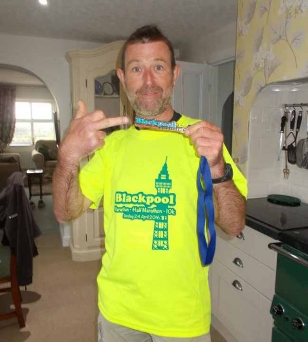 Blackpool Marathon Race Report - Mark Houghton
