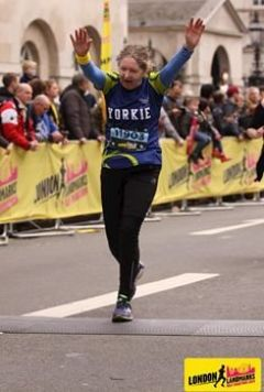 London Landmarks 1/2 Marathon - My story Linda Walker