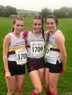 Cross Country - Juniors and seniors at Ulverston take on Storm Callum